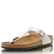 Birkenstock Gizeh BF Graceful pearl white