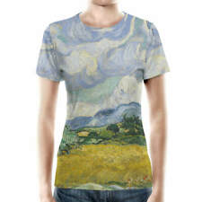 Vincent Van Gogh Fine Art Painting Women Cotton Blend T-Shirt All-Over-Print