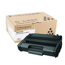GENUINE RICOH 406522 BLACK MONO LASER PRINTER TONER CARTRIDGE