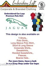 JAGUAR LOGO EMBROIDERED PREMIUM POLO SHIRT.. 10 COLOURS IN 10 SIZES