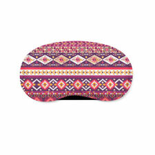 Girly Aztec Tribal Geometric Sleeping Mask Travel Eye Mask