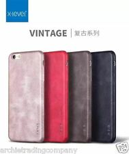 New Luxury Vintage Thin X Level Back Leather Case Cover iPhone SE 5S 6 6S Plus