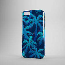 Beautifuly Blue Icy Decorated Palm Trees Phone Case Cover for all mobile UK