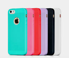 Ultra Thin Soft Silicon *RAINBOW COLORS* Cover Case for Apple iPhone 5/5s/SE""
