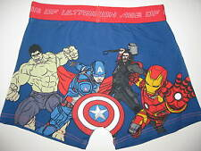 Boys official Marvel Comics Avengers boxer pants shorts ages 3 to 13 BNWT