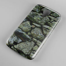 Hard Grey Stone Rocks Phone Case Cover for all mobile UK