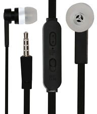 Earphones HeadSet Handsfree Compatible For Asus With 3.5mm Jack - Black