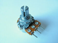 Poti 5, 10, 50, 100 K Linear Welle 15 mm 3 Pin Potentiometer Drehpotentiometer