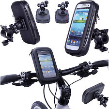 360° Waterproof Bike Mount Holder Case Bicycle Cover for Apple iPhone Models