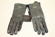 NWT BURBERRY PRORSUM RUNAWAY CAIMAN ALLIGATOR ITALY GLOVES SIZE 7.5  $1695