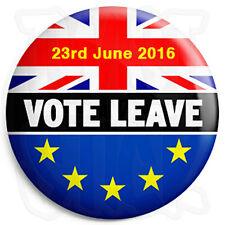 Vote Leave - 2016 EU European Union - 25mm Button Badge - UK Europe Referendum