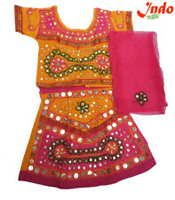 Indo Radha Designer Lehnga Choli For Kids(0 To 5 Years)