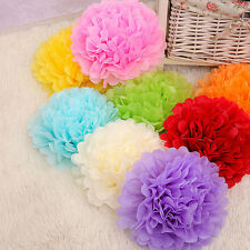 Pompoms Mixed Colour Mixed Sizes Tissue Paper Wedding Party Decoration Pom Poms