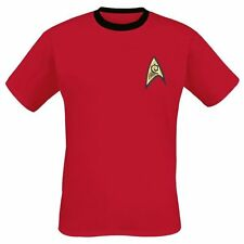 Star Trek  T-Shirt - Red Uniform