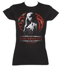 GAME OF THRONES - TRONO DI SPADE. I AM KHALEESI - T-SHIRT DONNA TAGLIA XL