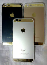 Fashion Luxury Mirror and Metal Cover TPU Soft Case iPhone 4 4s / 5 5s / 6  6s