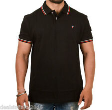 LP  Sports Pique Polo Black T-Shirt