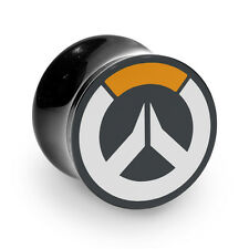 Overwatch Acrylic Ear Stretcher Flesh Drum Plug 10-30mm 3 Colours