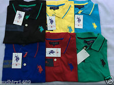 US Polo Assn Solid Men's Polo T-shirt - Latest Model