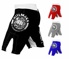 New UFC MMA Grappling Short Kick Boxing Mens Muay Thai shorts (Small-2XL)