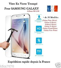 Vitre Film Protection Verre Trempé Samsung Galaxy S5/S6/A5/J5/S7/J5/Grand Prime