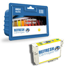 REMANUFACTURED NON GENUINE EPSON 16XL / T1634 YELLOW HIGH CAPACITY INK CARTRIDGE