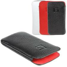 Apple iPhone 4s / 4 Hülle Leder Tasche Case Etui Handytasche Goldberg EasyCase