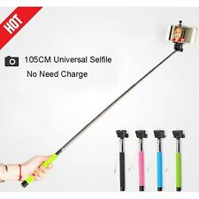 Universal Luxury Selfie Stick Monopod Tripod Holder with 3.5mm Wired Control