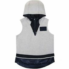 Nike Womens Mixed Material Hooded Gilet Vest New 749132-050 RRP $150