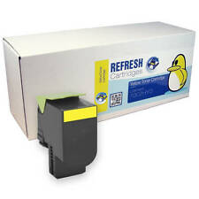 REMANUFACTURED LEXMARK 702HY HIGH CAPACITY YELLOW LASER TONER CARTRIDGE 70C2HY0