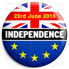 UK Independence Day - EU European Union - 25mm Button Badge - Europe Referendum
