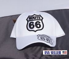 NWT 3D EMBROIDERED. HISTORIC ROUTE 66 CAP ADJUSTABLE BACK 4 COLORS
