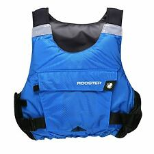 Rooster Junior Diamond Side Zip Buoyancy Aid - Signal Blue