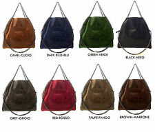 Borsa Falabella Inspired in vera pelle vari colori Made in Italy