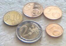 Cyprus Euro Coins: 2 Cents, 5 Cents, 10 Cents & 2 Euro For Hobby/Collection/Art