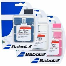 BABOLAT PRO TEAM TACKY THIN OVER GRIP FOR TENNIS. OVERGRIP ALSO FOR PADEL