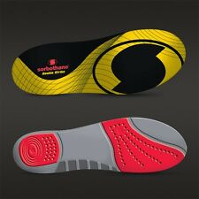 SORBOTHANE SHOCK STOPPER DOUBLE STRIKE INSOLES, ONE OR TWO PAIRS VARIOUS SIZES