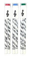 NEW Sheet Music Design BALL POINT PEN AND PENCIL DUO SET Treble Clef Music Gift