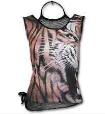 SPIRAL DIRECT MARK OF THE WILD ALLOVER MESH TOP ROCK GOTH