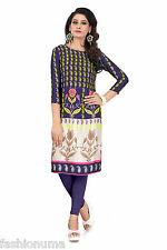 Fashionuma Designer Casual Wear Cotton Black  Kurti
