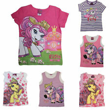 T-Shirt Gr.98-128 Filly Fairy Pferdchen Witchy Elves Glitzer Achselshirts pink