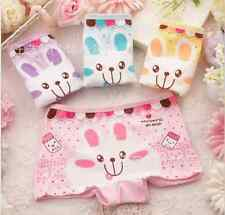 Cute bunny cartoon children's underwear cotton Lycra boxer briefs wholesale