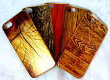 Stylish PC Material Wooden Pattern Back Cover Case for Apple iPhone 5 5s