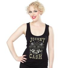 Johnny Cash Tank Top - Don't Take Your Guns To Town