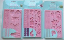 KITCHEN CRAFT SWEETLY DOES IT SILICONE FONDANT ICING MOULDS choose your design