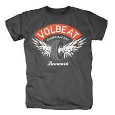 Volbeat T-Shirt- Winged Wheel