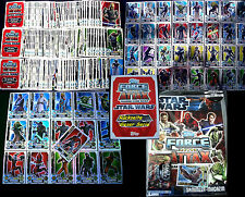 Topps FORCE ATTAX Star Wars CLONE WARS Serie 3 - SET + KARTEN Trading Cards