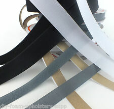 HOOK AND LOOP FASTENER TAPE SELF ADHESIVE STICKY BACKED 20mm 25mm OR 50mm