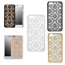 Hard Back Vintage Damask Skin Case Cover Shell for iPhone 4 4s 5C 6 plus 6s plus