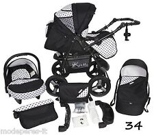 Baby sweet pram - Passeggino Trio ( Passeggino - Ovetto per auto) made in EU
